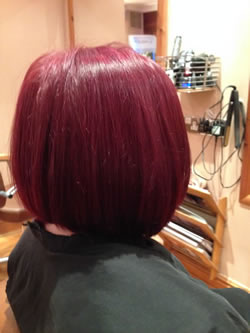 After reshape bob. Right profile view.