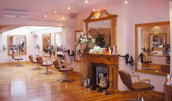 Inside Marple Hair and Beauty Centre